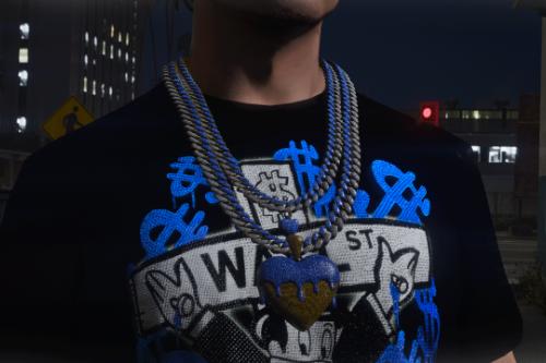 Dripping Heart Chain MP Male