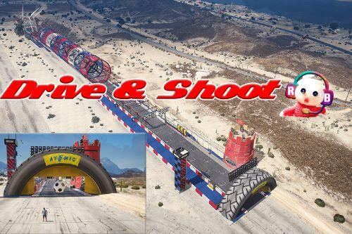 Drive and Shoot Challenge [Menyoo / funny]