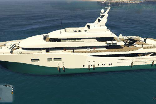 Driveable Yacht (MENYOO)