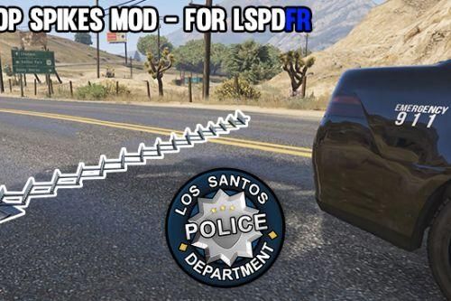 Drop Spikes Mod (for LSPDFR)