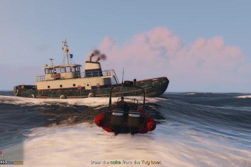 Drug Boat Heist