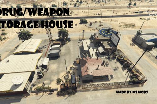 Drug/Weapon Storage House [Menyoo]