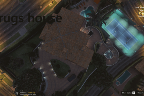 drugsbaron/drug boss house michael {map editor}