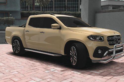 [DTD] 2018 Mercedes-Benz X-Class [ADDON/TUNING]