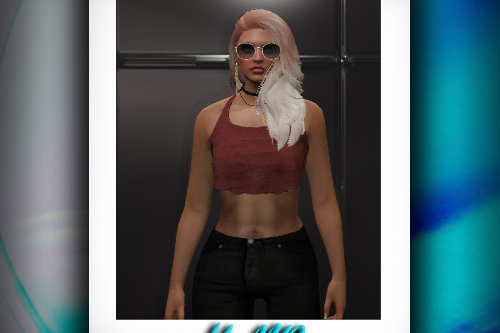 Dual Color Hair for MP Female
