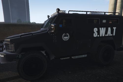 [4K] Dubai Police SWAT Lenco Bearcat Texture