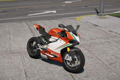 Ducati 1199 Panigale (Tricolor Paintjob)