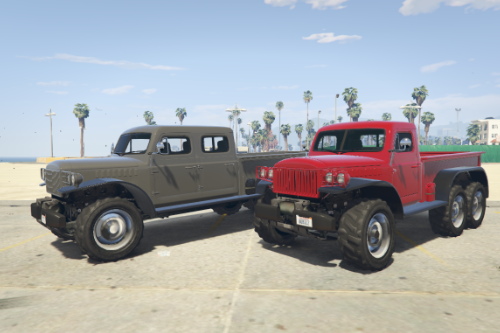 Duneloader Single Cab & Crew Cab 6x6 [Add-On / Replace]