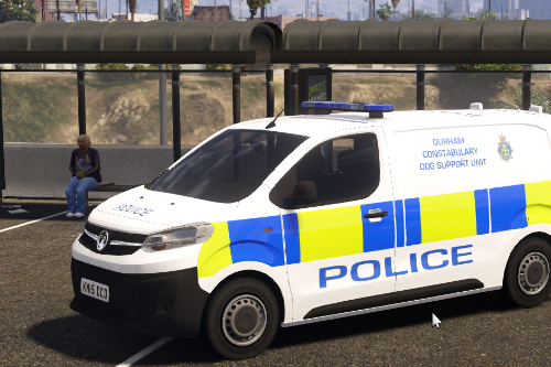 Durham Constabulary Dog Support Unit 2019 Vauxhall Vivaro