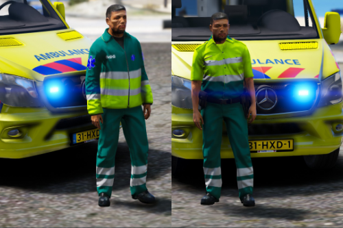 Dutch Ambulance + OvDG Uniform