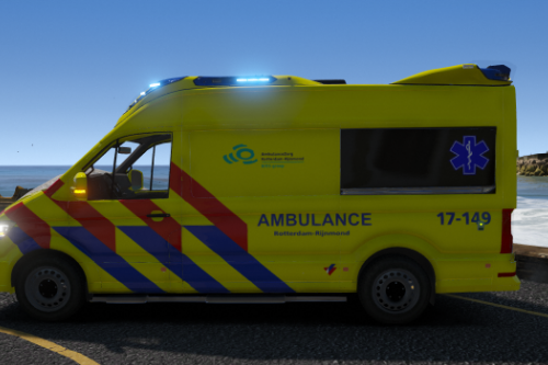 Dutch Ambulance VW Crafter oov 17-149 /// Skin ||| ELS