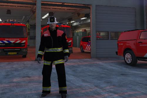 Dutch fireman uniform / Brandweer uniform