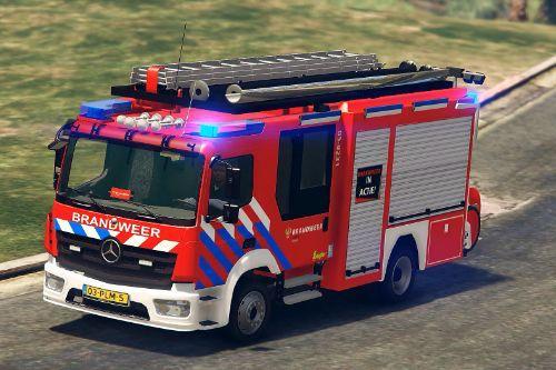 Dutch Firetruk Atego Skin | Nederlandse Brandweer Atego Skin | 4K/ELS | PolitieMeneer