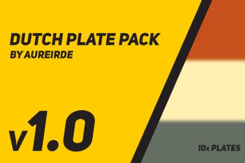 Dutch Plate Pack