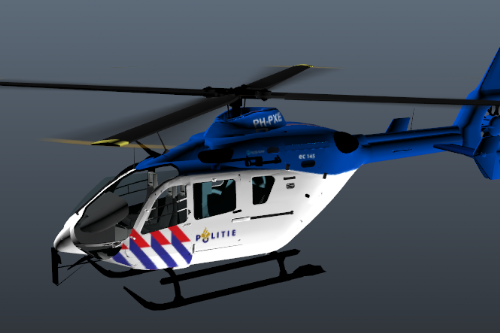Dutch Police Helicopter - EC-145