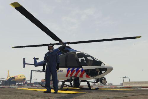 Dutch  police pilot uniform / Zulu piloot