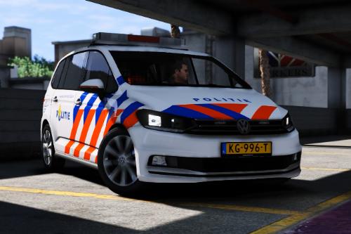 Dutch police siren