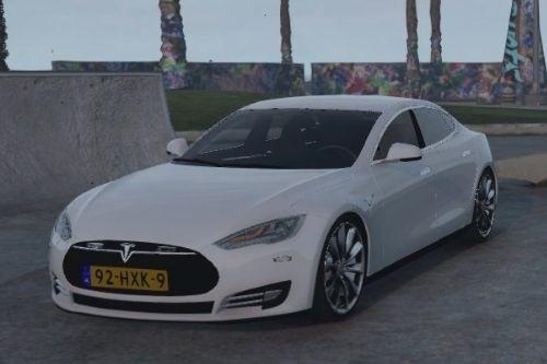 Dutch Police Tesla Model S Unmarked || Nederlandse Politie