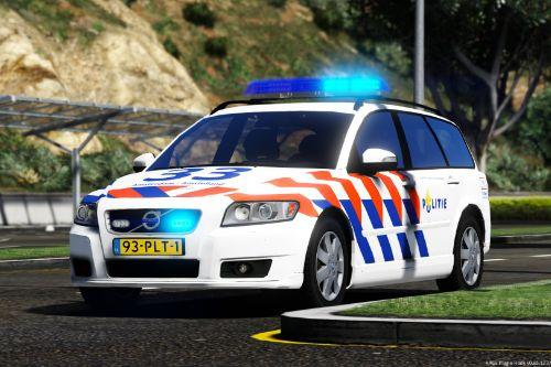 Dutch police Volvo V50 (THW)