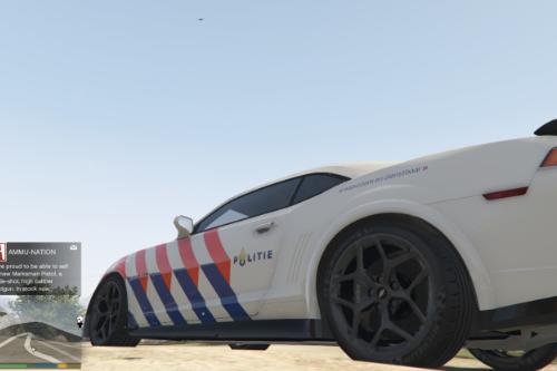 [Dutch] Politie Chevrolet Camaro [Livery]