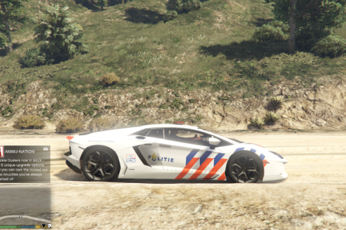 (Dutch) Politie Lamborghini Adventador [Livery]