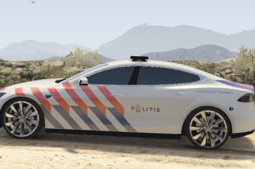 [Dutch] Politie Tesla Model S [Livery]