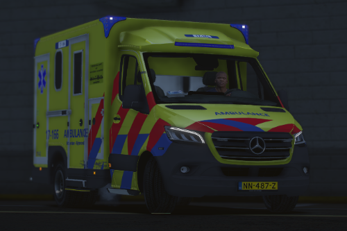 Dutch renewed ambulance siren