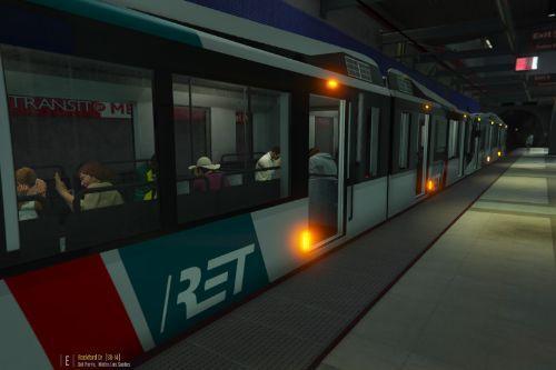 Dutch RET Metro Train