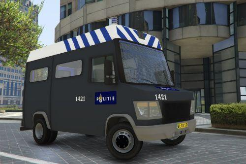 Dutch riot police Mercedes-Benz Vario (BETA, ELS)