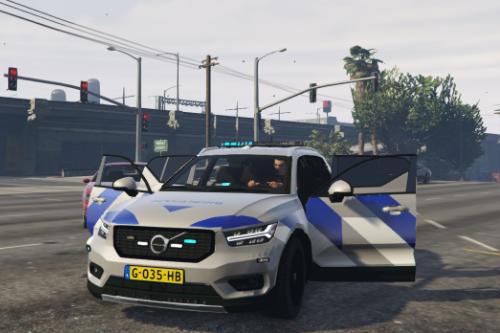 Volvo XC40 BA Nederlandse Beveiligings voertuig