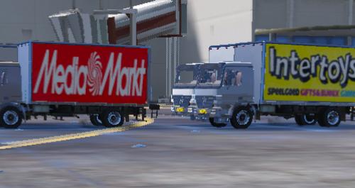 Dutch Transport Truck Textures