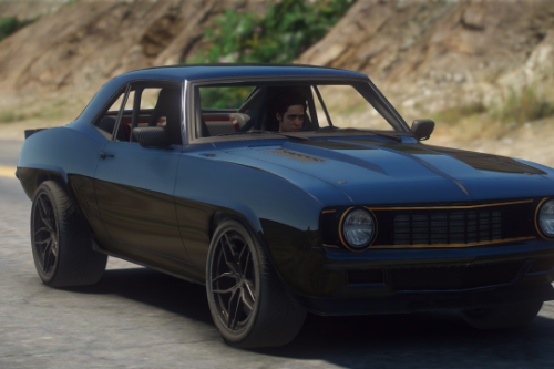 Dutchboys Hotrods 1969 Camaro [Add-On SP / FiveM]