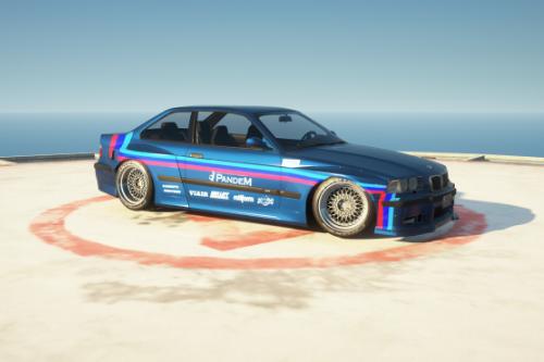 Handling for Zen-Imogen's 1992 BMW E36 Pandem Rocket Bunny