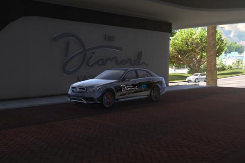 E63 AMG Diamonds Casino Livery