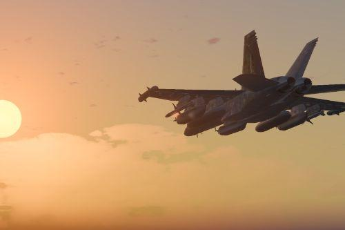 EA-18G Growler Electronic Warfare Jet [Add-On]