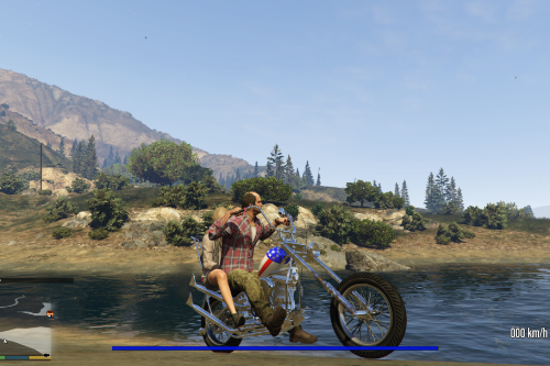 Easy Rider's' 'Captain America' bike [Add-On]