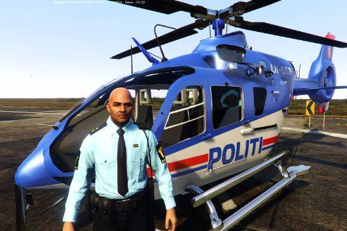 EC-135 Helicopter Norwegian Police