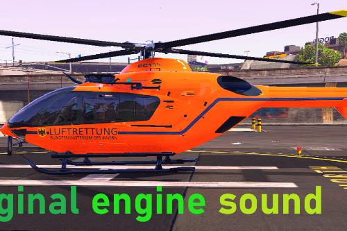 EC-135 T2i Original engine sound
