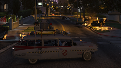 Ghostbusters Ecto1B Variant [Add-On / Replace]