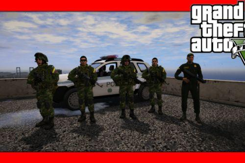 Ejercito Colombiano [Add-On] FiveM