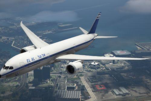 El Al Retro Livery - 787-9