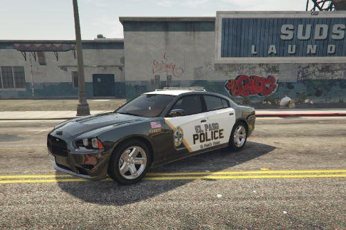 El Paso Police Skin for '13 Charger