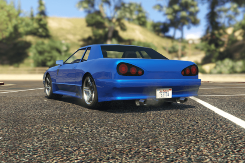 Annis Elegy from GTASA [Add-On / FiveM | Tuning]