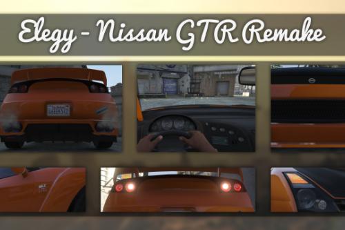 Elegy - Nissan GTR Remake