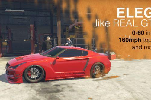Elegy2 Realistic GTR35 Mod