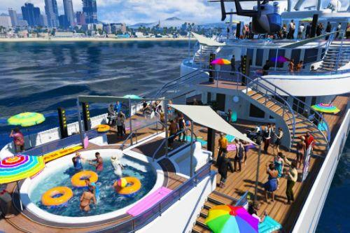 LS Party Yacht Customizable