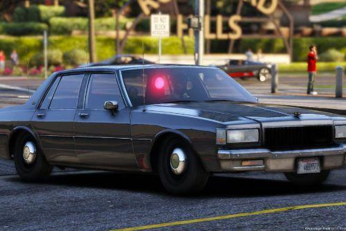 [ELS] 1988 Chevrolet Caprice 9C1 (Unmarked) - Los Angeles Police Department