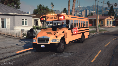 [ELS] 2015 Blue Bird School Bus