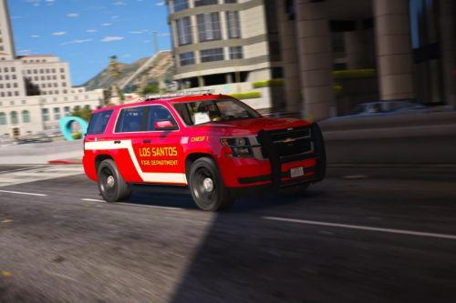 [ELS] 2015 Fire Dept Tahoe | Add-On |