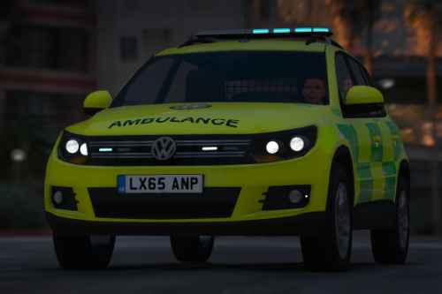 [ELS] 2015 London Ambulance Service VW Tiguan RRV